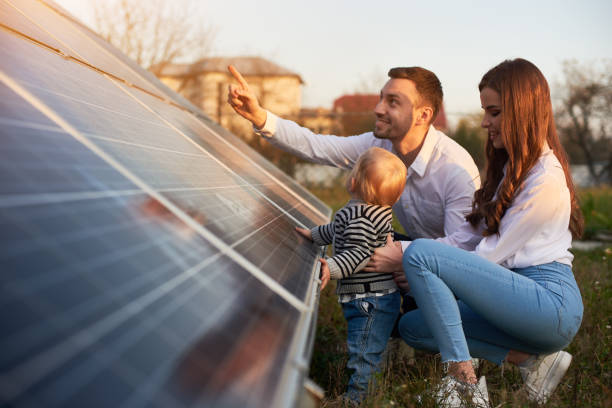Solar Energy Family Stock Photos Pictures Amp Royalty Free