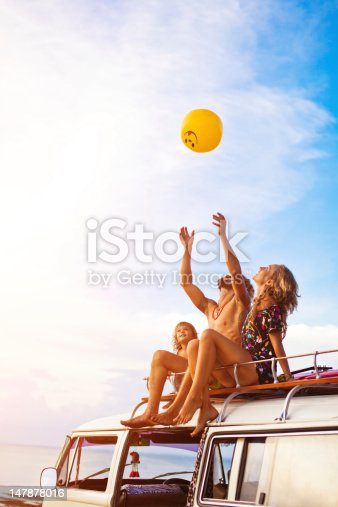 istock young family on a beach 147878016