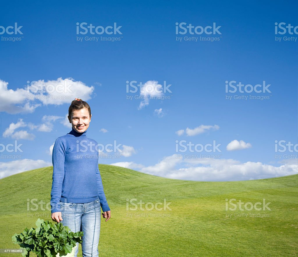 young farmer royalty-free stock photo