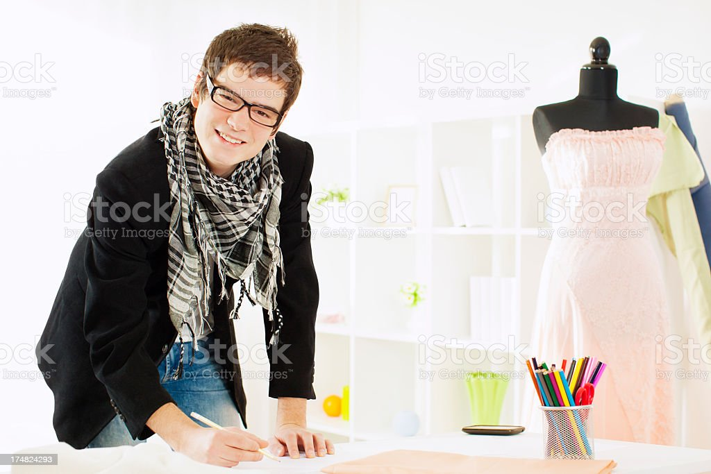 Young Fashion Designer Stock Photo Download Image Now Istock