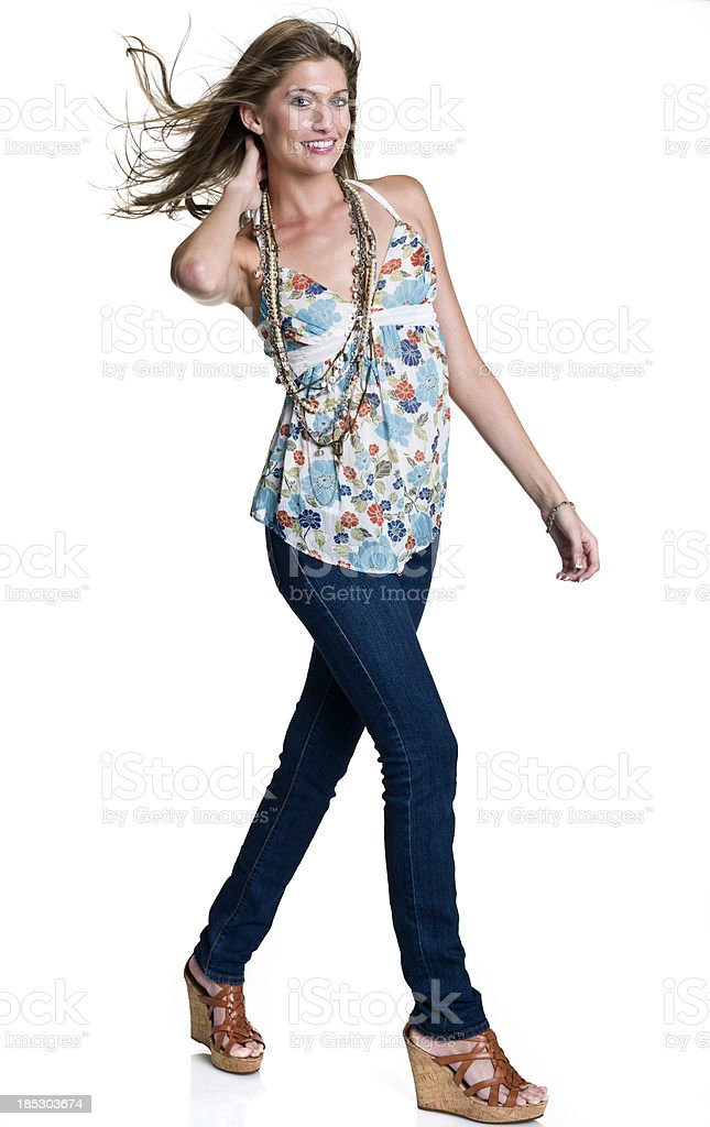 Young Fashion Model royalty-free stock photo