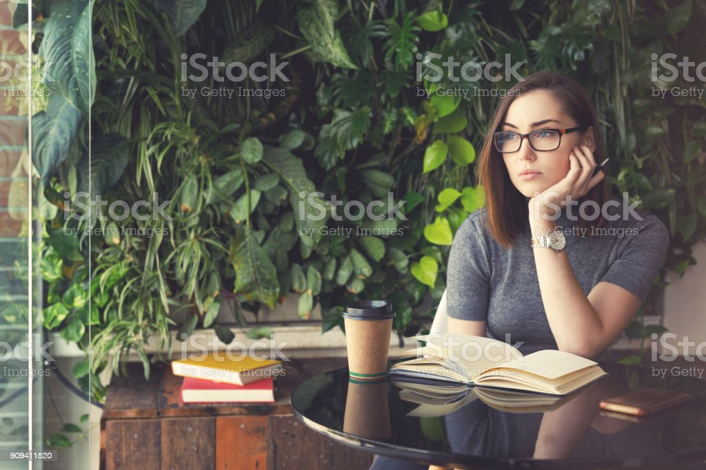 Young Female Creative stock photo