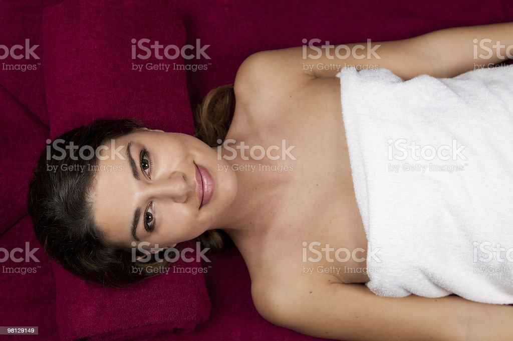 Young Female Face royalty-free stock photo