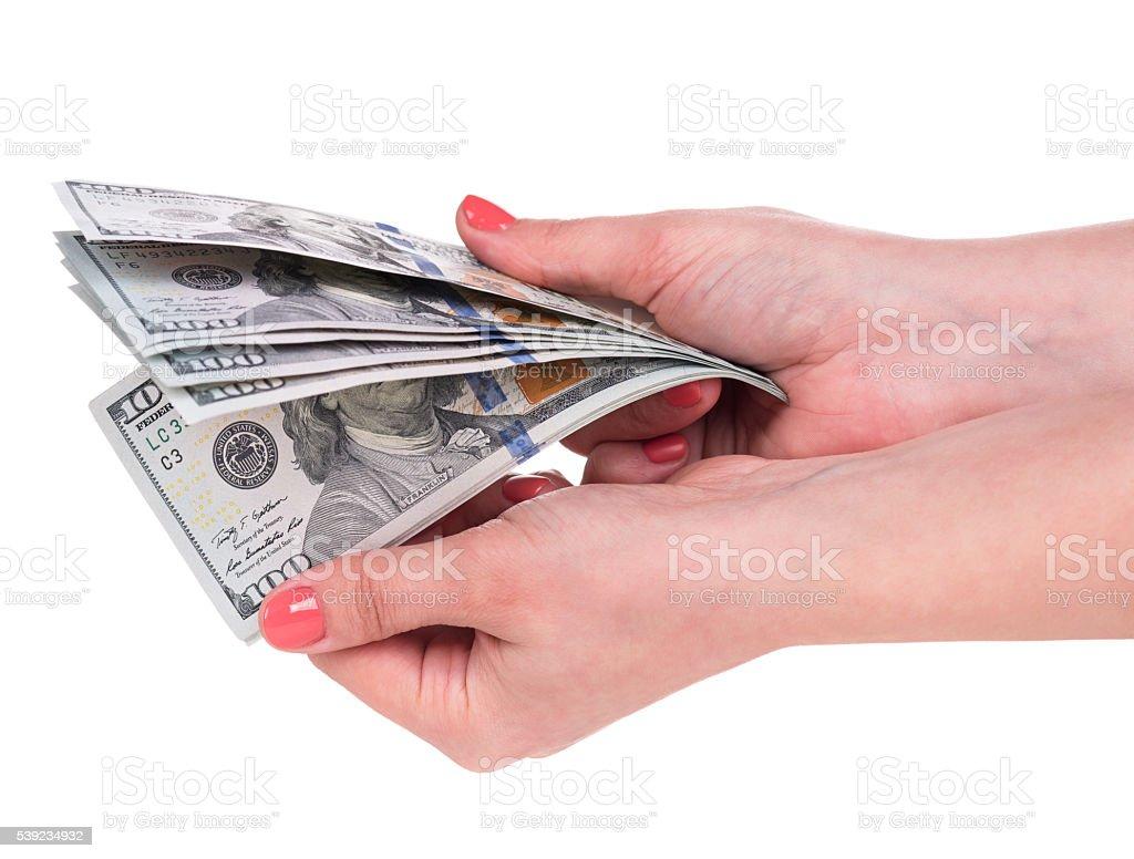 Joven mujer mano foto de stock libre de derechos