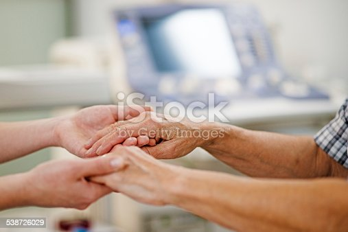 667827758 istock photo Young Female Hands Holding a Senior Woman's Hands 538726029