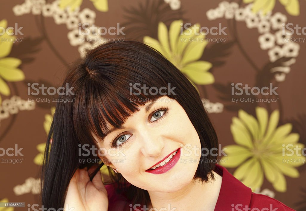 young female head shot royalty-free stock photo