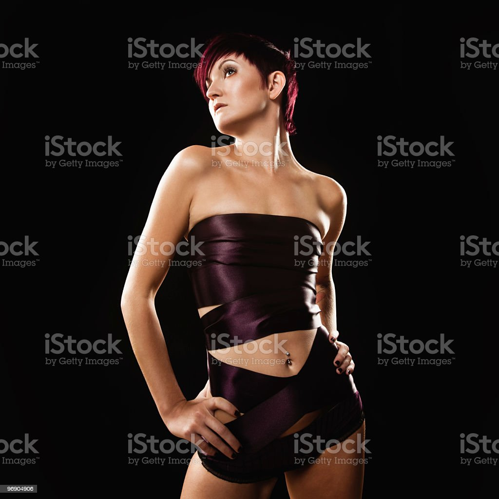 Young Female Model royalty-free stock photo