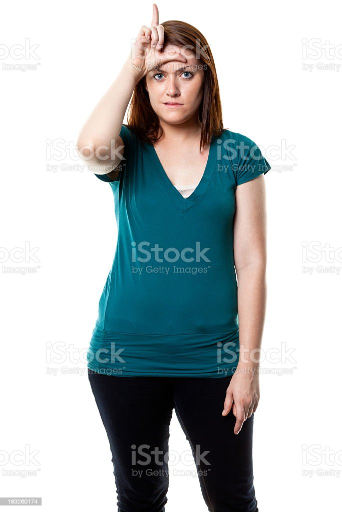Young Female Portrait royalty-free stock photo