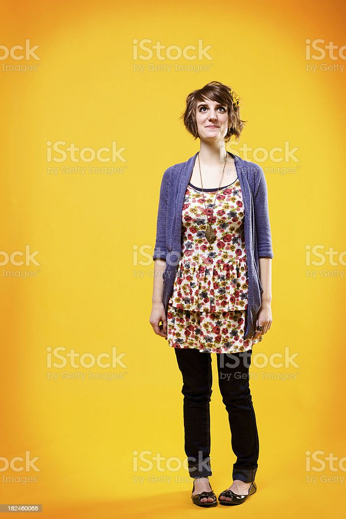 young female portraits royalty-free stock photo