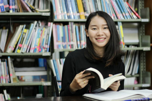 Young female student reading book in library picture id956123896?b=1&k=6&m=956123896&s=612x612&w=0&h=z7zyrev8qp79x6dbsflq ckkj9895xawka2ov1de 8a=