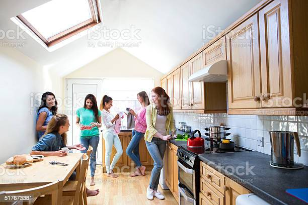 Young female students in the kitchen picture id517673381?b=1&k=6&m=517673381&s=612x612&h=0c4ypunyzdwlsjauppm1ja xxszwneakf3e8g9yaoys=