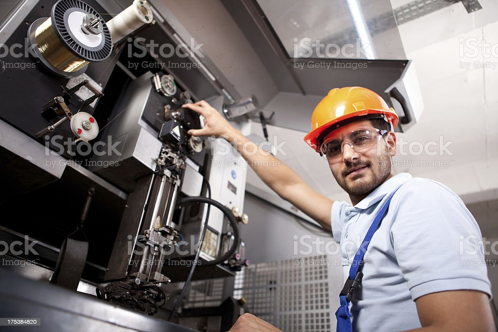 Young Foreman royalty-free stock photo