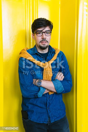 1040964880 istock photo Young freelancer in his cool office 1163334242