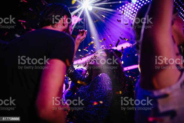 Young friends having fun with confetti on night club party picture id517708666?b=1&k=6&m=517708666&s=612x612&h=0011pjs4fybh1npny4kr0g9g2amxbttpwthqa34wg4a=