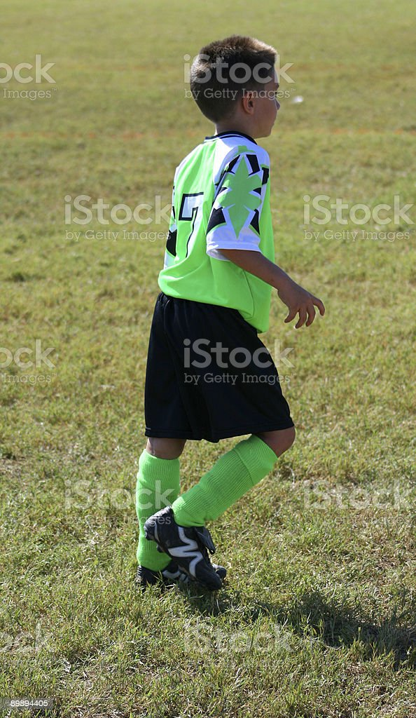 Young Futbol Player royalty-free stock photo