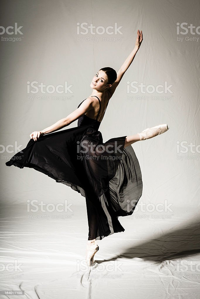 3f252ab6d2f0 Young Girl Dancing Stock Photo   More Pictures of Activity