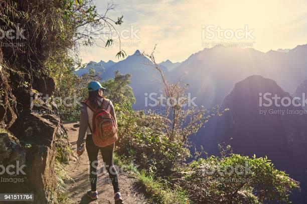 Young girl hike in beautiful landscape picture id941511764?b=1&k=6&m=941511764&s=612x612&h=uevjgrokmwjbpap23vcy p x7qfszrrp17dvoahm9hm=