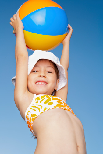 Young Girl In Her Bathing Suit Stock Photo - Download -6263