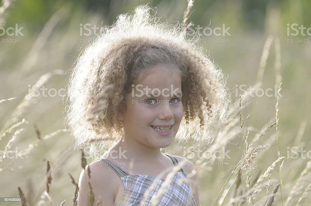 Young Girl in summer royalty-free stock photo