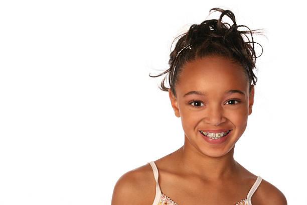 Jovem menina - foto de acervo