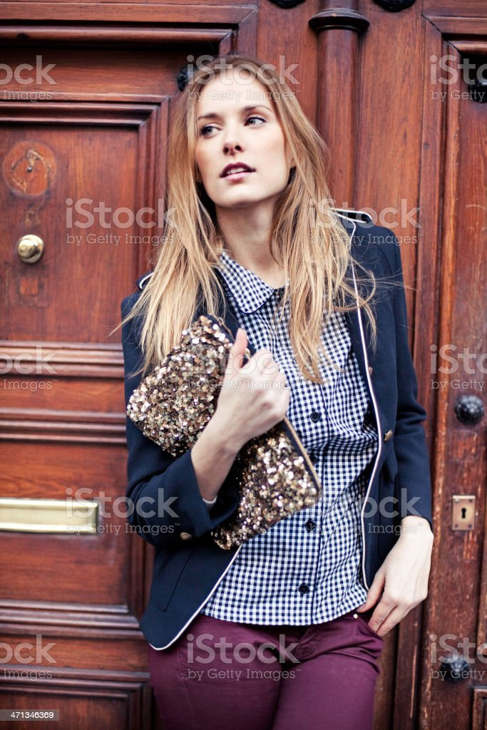 Young girl stock photo