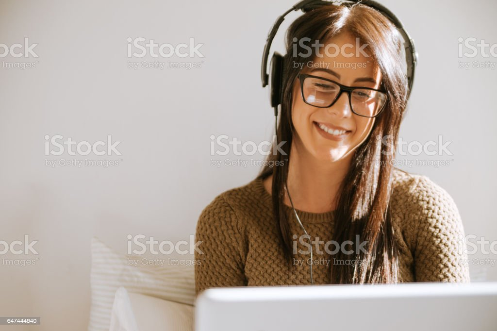 A Young Girl stock photo