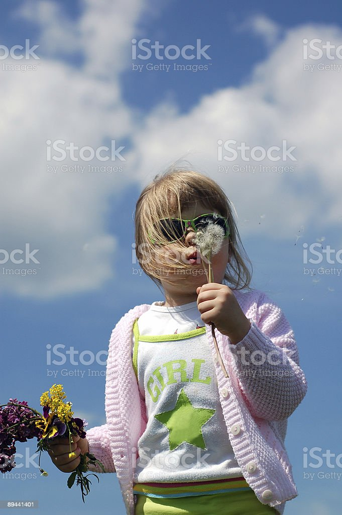 Giovane ragazza foto stock royalty-free