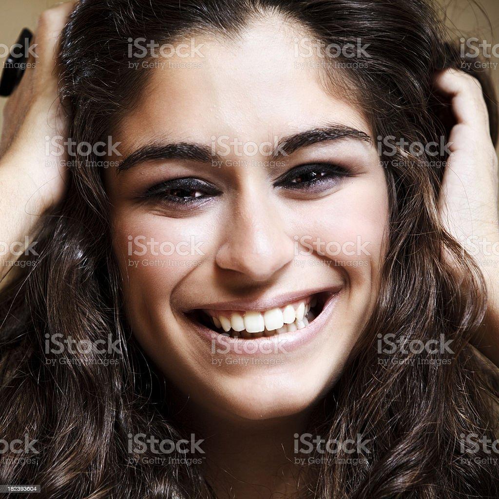 Young Girl Portrait royalty-free stock photo