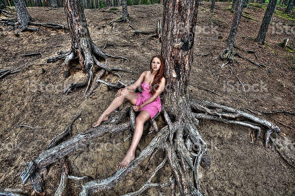 Отдых девушек на природе