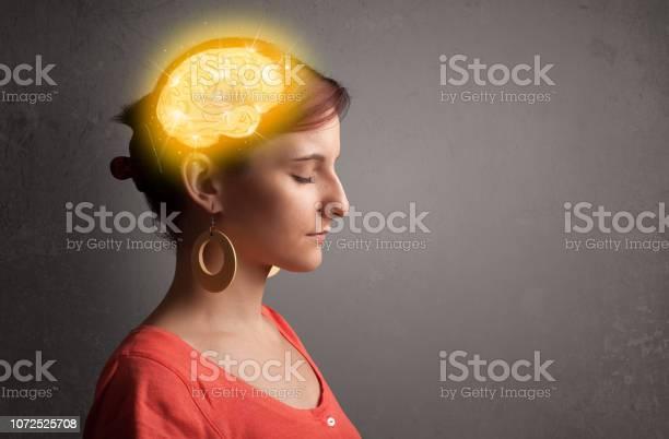 Young girl thinking with glowing brain illustration picture id1072525708?b=1&k=6&m=1072525708&s=612x612&h=ebz7fhxmqhdt lpbmzccn2qx bk rqf8twvx ugf5kq=