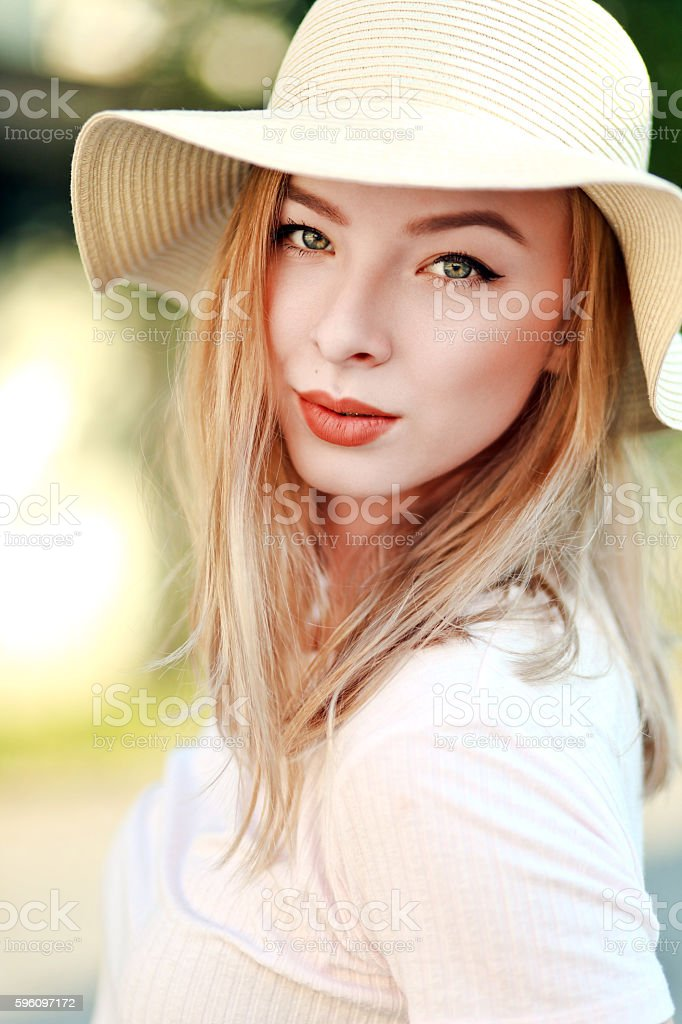 young girl with charming look Lizenzfreies stock-foto