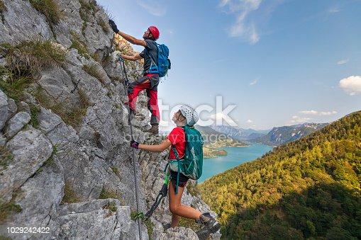 Mondsee, Austria, Dawn, Via Ferrata, Drachenwand