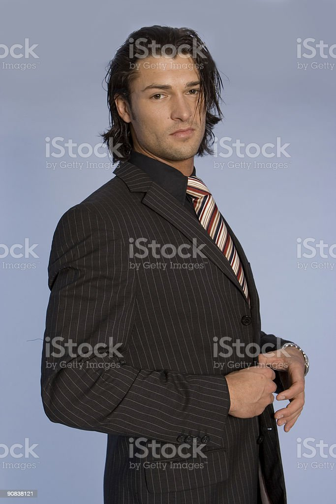 Young good looking model royalty-free stock photo
