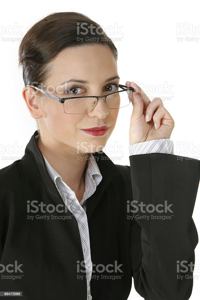 young goog looking businesswoman stock photo