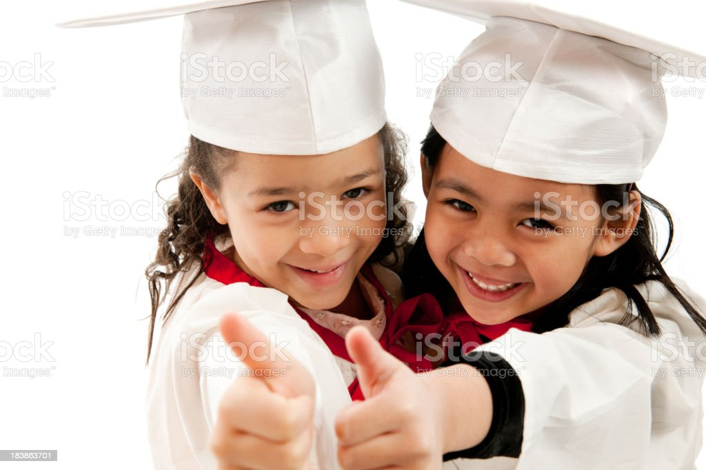 Young Graduates royalty-free stock photo
