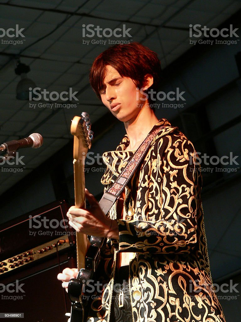 Young Guitar Player royalty-free stock photo