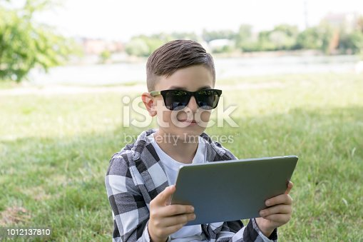 665586146 istock photo Young guy with stylish haircut 1012137810