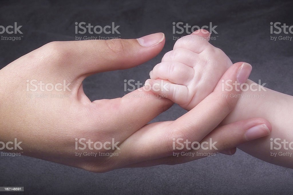 Young Hands royalty-free stock photo
