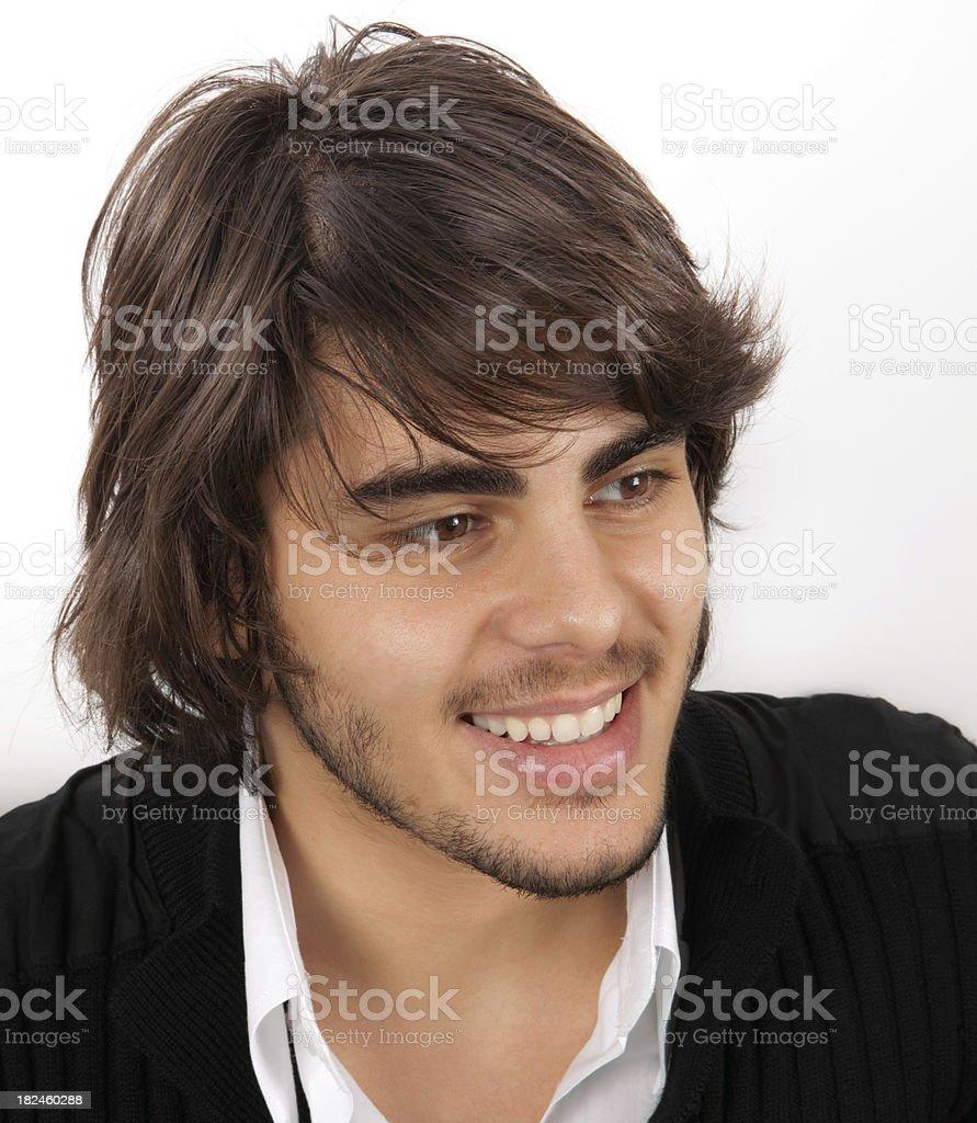 Jovem homem bonito foto royalty-free