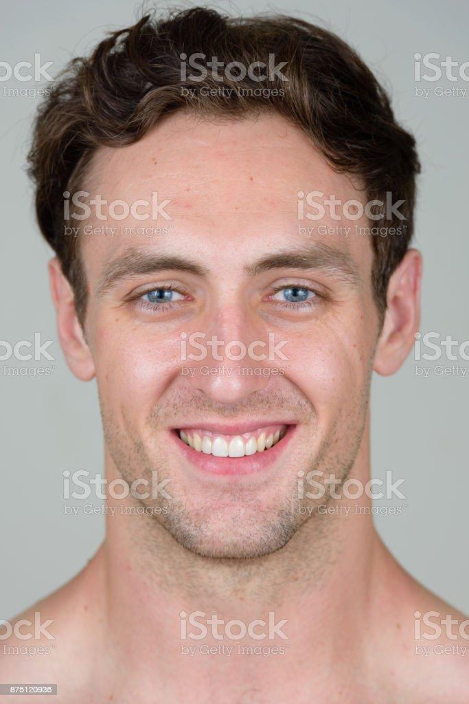 White men with blue eyes