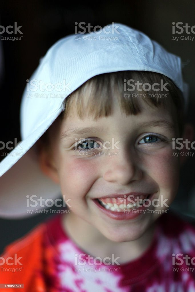 Young happy boy royalty-free stock photo