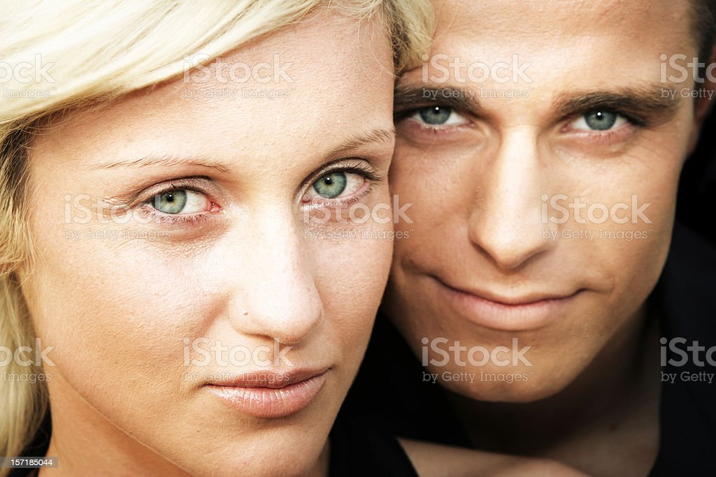 Young happy couple royalty-free stock photo