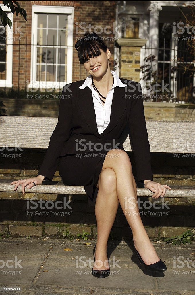 Young happy girl royalty-free stock photo