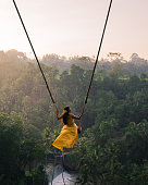 istock Young happy woman enjoying in her day at nature. 1156891378