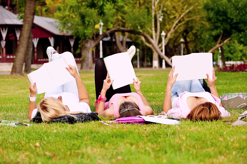 istock young high school students or college girls 153217598