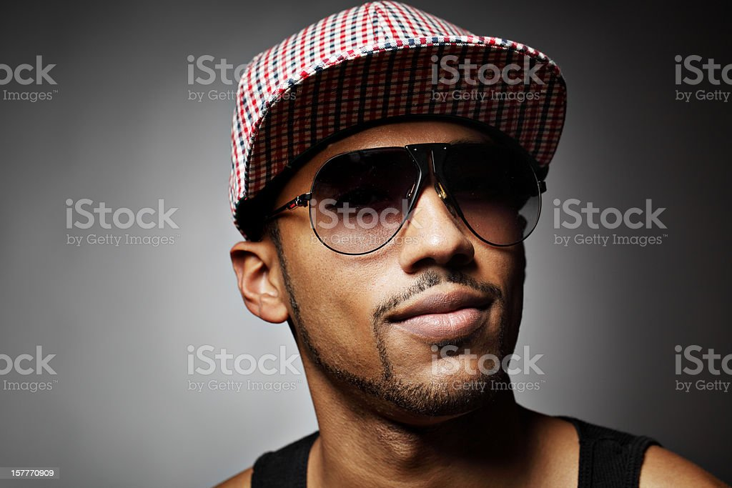 Young Hip Hop Portrait royalty-free stock photo