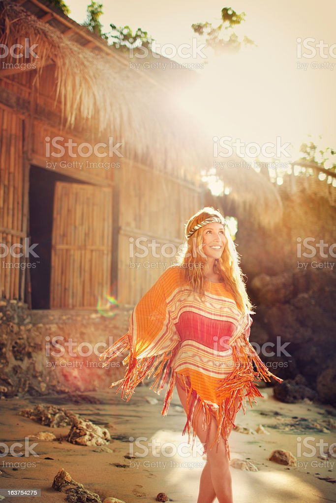 Femme jeune Hippie - Photo