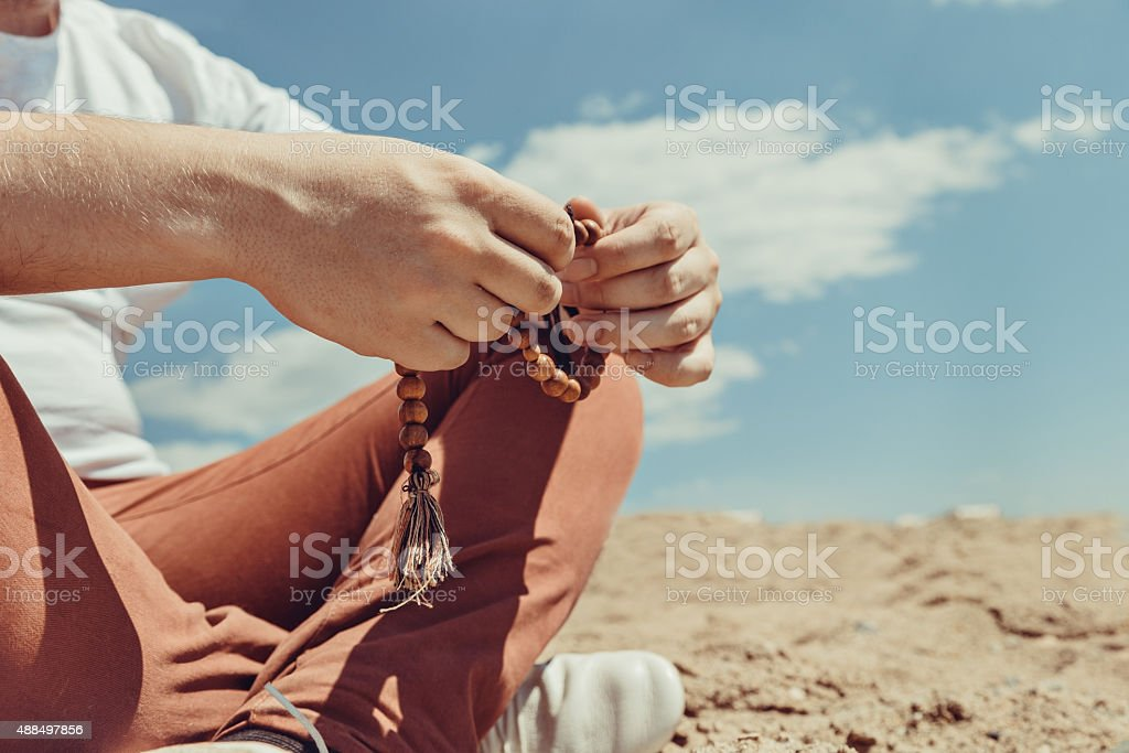 Young Hipster Man Stock Photo