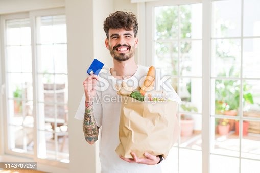 istock Young hipster man using smartphone 1143707257