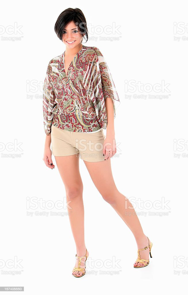 Young Hispanic Woman royalty-free stock photo